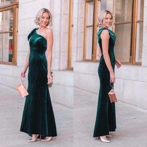 Green Velvet Formal